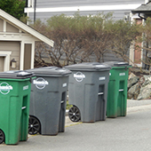 image of garbage carts