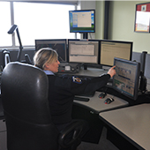 Fire Dispatcher at work