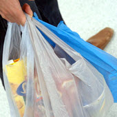 single-use plastic bag