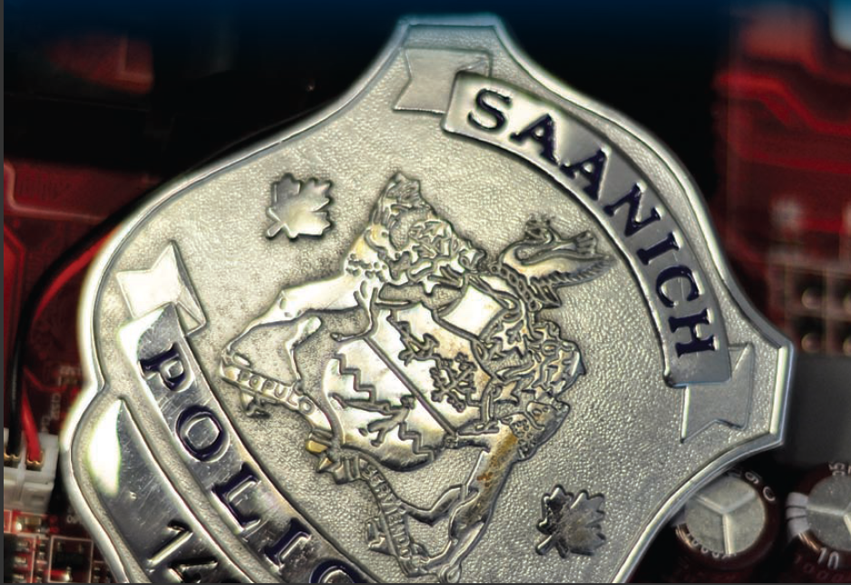 saanich police badge