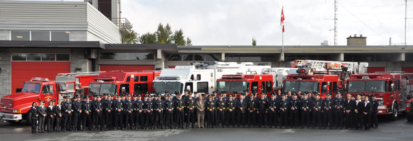 Fire Department group photo