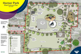 Final plan for Horner Park renewal 2020