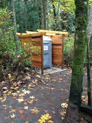 Year Round Toilet Enclosure at Mount Douglas Park Churchill Road Lower Parking Area